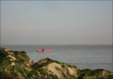 Mer du Nord - Knokke (au fond Zeebruge)