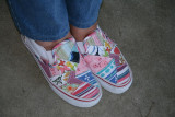 They are astonishing colorful ,and I see a palm tree on them !!!