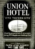 Union Hotel Sign