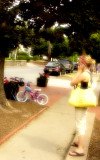 Girl With Yellow Bag