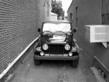 Jeep In Alley