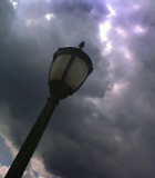 Lamp With Clouds