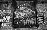 Graffiti  2 B+W