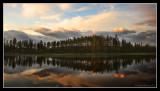 Sunset reflection on Lake 13
