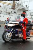 Santas on motorbikes (2005)