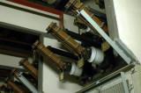 Ställverket bottenplan 6 kV - frånskiljare