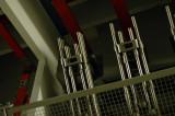 Ställverket bottenplan - frånskiljarknivar