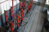 Ställverksrum 1 tr 70 kV - tryckluftsbrytare