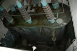 Ställverket  2 tr transformator T5 för turbin G5