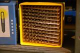 Ur ställverkets reservdelslager - gamla glödlampor