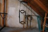 Ställverkets vindsförråd - lyftanordning för genomföringar