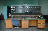 Turbinhallens kontrollrum -  kontrolltavla för generatorer