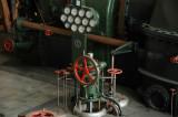 Turbinhallen - pådragsreglage, huvudventil för ånga m.m.