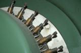 Turbinhallen - borsthållare för likströmsmatning till rotor