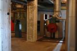 Matarvattenbyggnaden - huvudventil för ånga
