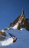 sommet de l'Aiguille du Midi