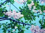 Spring Along the Alban Way panel 1