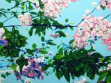 Spring Along the Alban Way panel 3