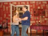 Jana & Michi trying Salsa