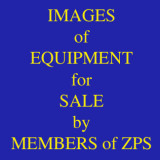 Images of Equipment for Sale by Members - BUT None at present!