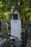 Novodevichy Cemetery: Tsjechov