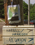 First sign on the pole on Belmont Ave at Montgomery Drive