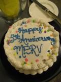 Merv's 5th Anniversary