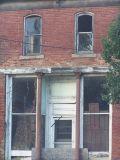 old abandoned storefront