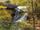 brandywine falls in fall