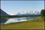 this is the Chilko Range from Konni Lake