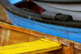 colourful details on fishing boats