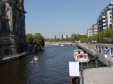 Canal beside Berliner Dom.