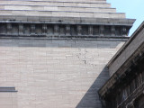 Bullet holes in the Pergamon museum