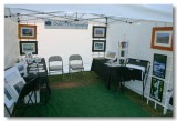 My Booth at the Folsom Gourd & Art Festival