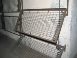 Townsley PSR folding bunks. Nearest set has interrupted-style wall brackets