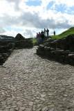 Castle Urquhart paving stones