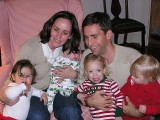 Mary Ann (Rambo) McDow - Daughter, Maggie with Ella (15mo) & Bea (3mo): Son, Will with Laura (2 1/2)&Florence(14mo.)