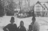 L-R:Katie B.Cousins, Beth Jones, Ginna B. Kelley, Gus Breytspraak(chs'63)
