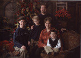 Daughter Renee & Brian W/  L-R Zach, Jake & Cole