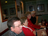 JAMES & Jeanne Beech attend their 1st. SupperClub. Next to them, Jo Ann and Larry Solomon