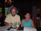 At last Mike Kriese finally produces his lovely wife Debbie.