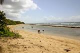 La playa frente Ababor, Vieques