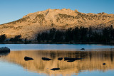 Fletcher Lake and unnamed Peak