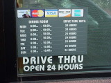 offical hours Jack in the Box