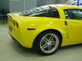 Yellow Z06 Corvette