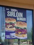 100% Sirloin Burger