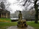 Bath. King Bladud in the Parade Gardens