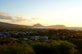 Koko head and crater at sunrise
