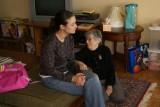 Cori's sister, Dana and grandma