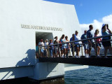 Leaving the Arizona Memorial